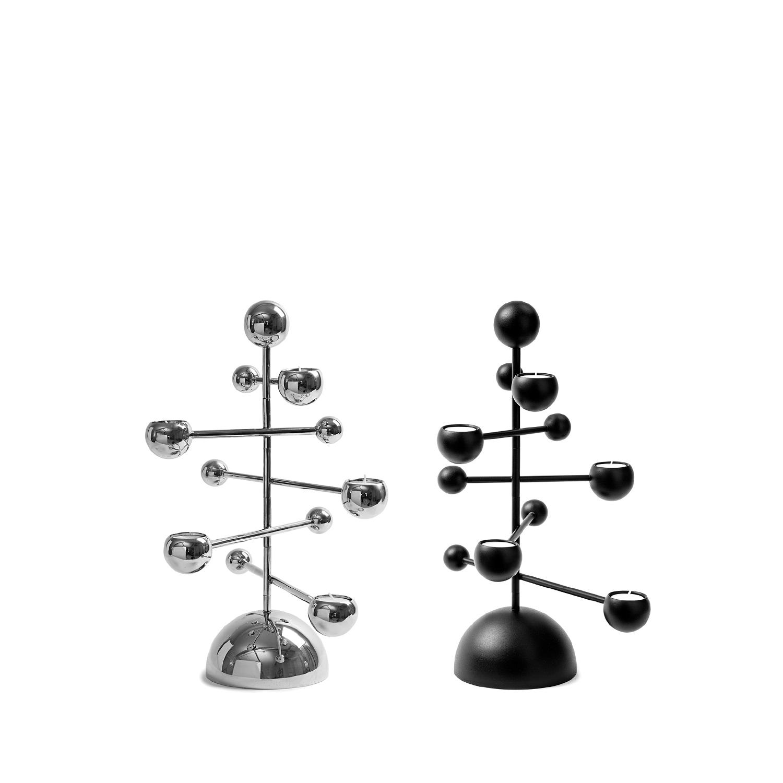 Teluria Black and Nickel Details Square 1